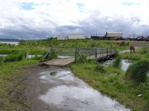 Чиринда: мост через ручей