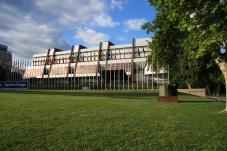 Дворец Европы, где проходила конференция