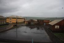 Вид из окна туринской средней школы-интерната