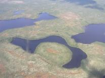 Озерный край: вид с вертолета