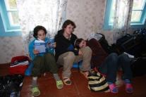 Наше жилье в Кислокане. Вещи собраны, но погода нелетная