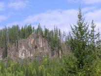 Ближние скалы: вид из Полигуса