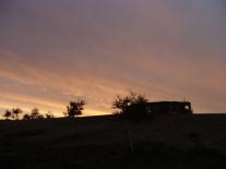 Стойбише после захода солнца