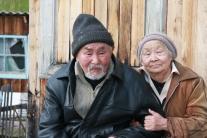 Мукто Сталина Прокопьевна с мужем