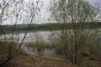 Старый поселок находился значительно ближе к берегу реки
