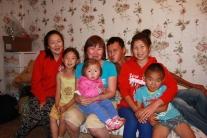Наталья Валентиновна Монго и ее семья