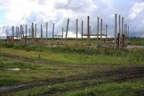 Заброшенное строительство школы