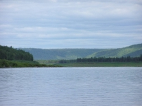Подкаменная Тунгуска с суломайского берега