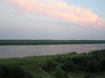 Закат на Сургутихе