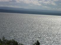 Мадуйское озеро перед грозой
