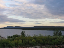 Закат на Мадуйском озере (2)