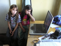 Кетский язык звучит на компьютере