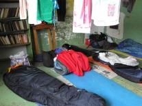 Экспедиционный быт в здании мадуйской администрации (1)