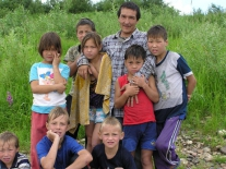 Дети Суломая: после купанья